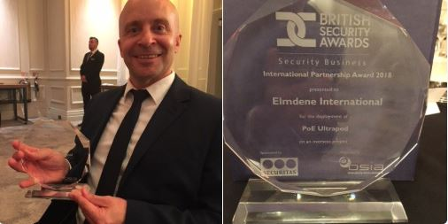 Elmdene win at British Security Awards
