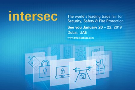 We are attending Intersec in Dubai!